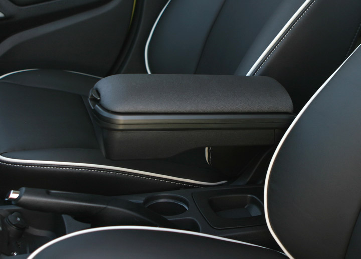 The New Boomerang Armrest For The 2011 Ford Fiesta